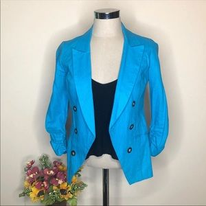 Charlotte Russe Blue Blazer XS